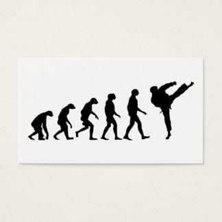 Cartes De Visite Évolution du karaté