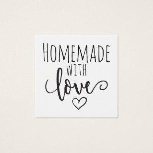 Cartes De Visite Fait Maison Avec Amour
