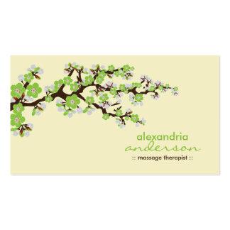 Cartes de visite faits sur commande de fleurs de c carte de visite standard