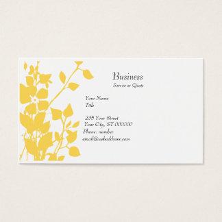 Cartes De Visite Fantaisie florale