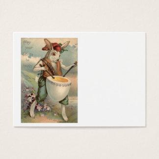 Cartes De Visite Fleur de batteur de tambour d'oeufs de lapin de