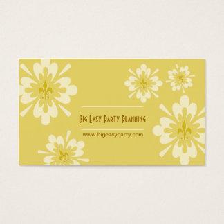 Cartes De Visite Fleur de Lis Flower