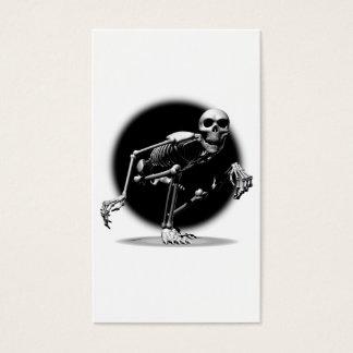 Cartes De Visite Fluage squelettique