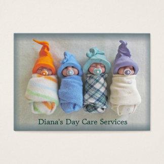 Cartes De Visite Fournisseur de soin de jour : Photo des bébés