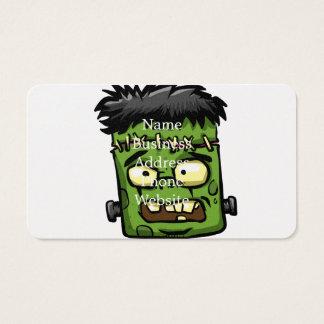 Cartes De Visite Frankenstein de bébé - contreseing de bébé -