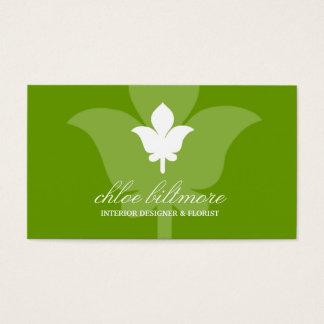 Cartes De Visite Fusée florale de 311 chaux