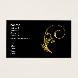 Cartes De Visite gold2