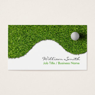 Cartes De Visite Golf Business Card