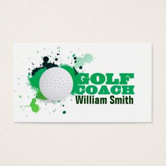 Cartes De Visite Golf Coach