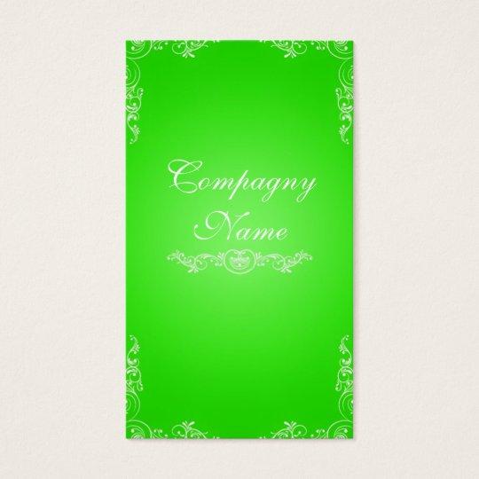 Cartes De Visite Green card