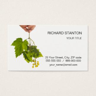 Cartes De Visite Groupe de raisin