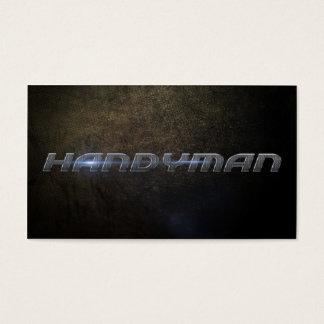Cartes De Visite Handyman business card