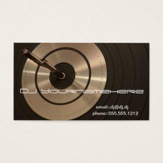 CARTES DE VISITE HAUTE FIDÉLITÉ DU DJ