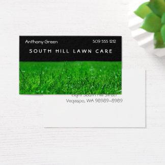 Cartes De Visite Herbe de pelouse