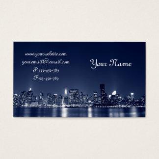 Cartes De Visite Horizon de Manhattan, New York City