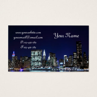 Cartes De Visite Horizon de Midtown Manhattan, New York City