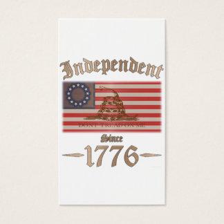 Cartes De Visite Indépendant