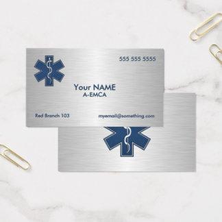 Cartes De Visite Infirmier EMT SME de luxe