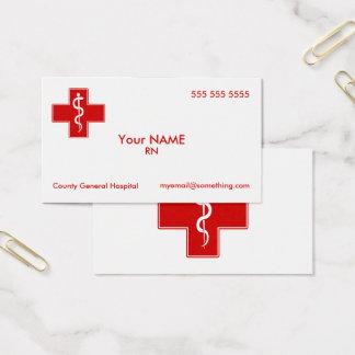 Cartes De Visite Infirmière