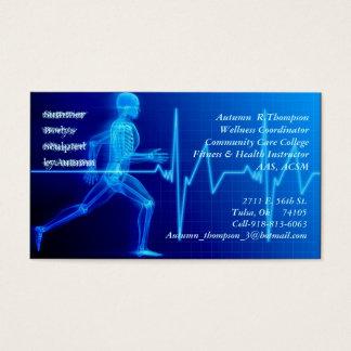 Cartes De Visite Instructeur de forme physique