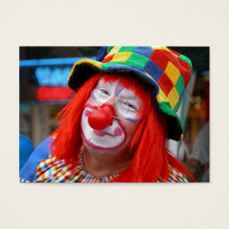 Cartes De Visite Introduisez le clown