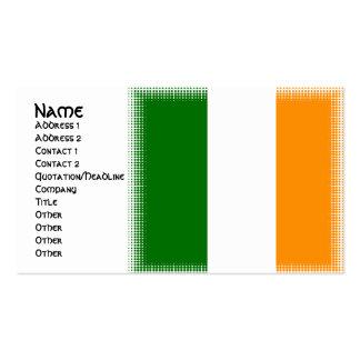 Cartes de visite irlandais uniques de conception carte de visite standard