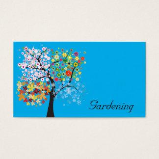 Cartes De Visite Jardinage