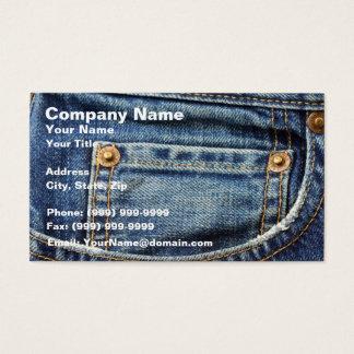 Cartes De Visite Jeans