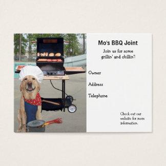 Cartes De Visite Joint de BBQ