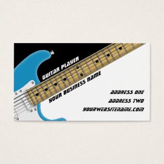 Cartes De Visite Joueur de guitare