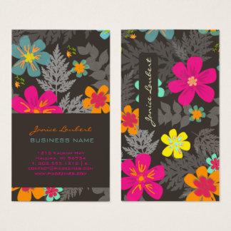 Cartes De Visite Jungle hawaïenne de PixDezines/couleur faite sur