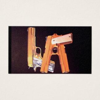 Cartes De Visite L.A. Armes à feu