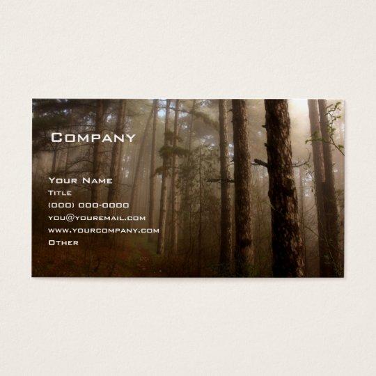 Cartes De Visite La forêt