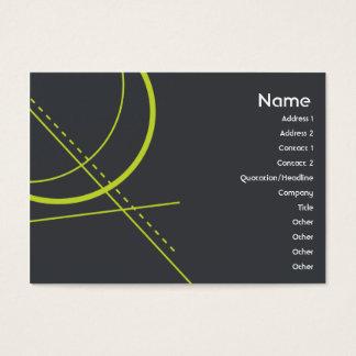 Cartes De Visite La géométrie - potelée