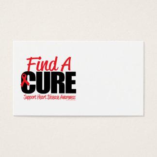 Cartes De Visite La maladie cardiaque trouvent un traitement