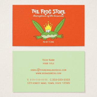 Cartes De Visite La mode drôle de magasin d'enfant de bande