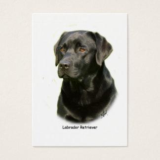 Cartes De Visite Labrador retriever noir