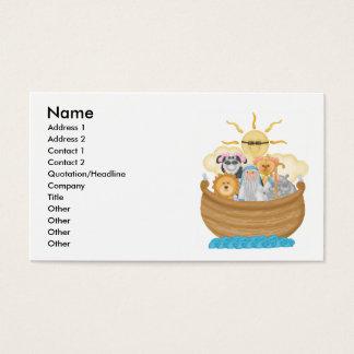 Cartes De Visite L'arche de Noé