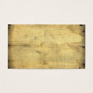 Cartes De Visite Le bois âgé par cru vide à la mode a inspiré
