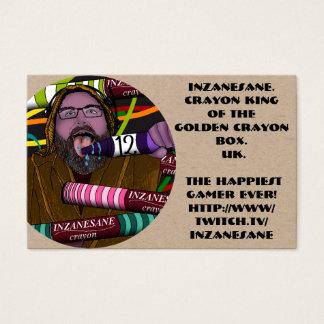 Cartes De Visite Le crayon d'Inzanesane