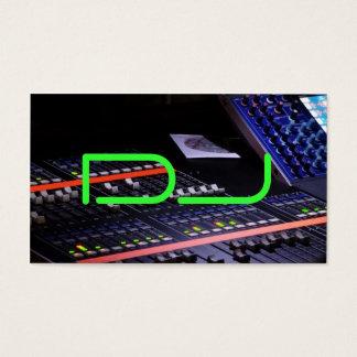 Cartes De Visite Le DJ se refroidissent