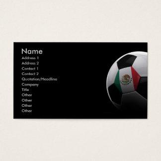 Cartes De Visite Le football au Mexique