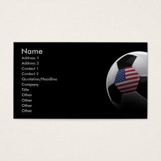 Cartes De Visite Le football aux Etats-Unis