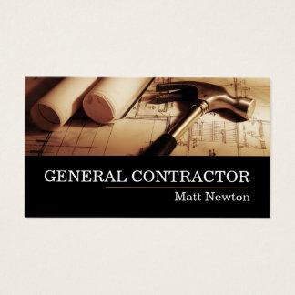 Cartes De Visite Le Général Contractor Builder Manager Construction