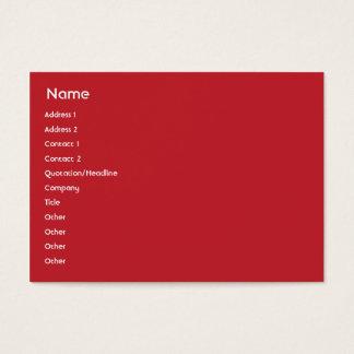 Cartes De Visite Le Samoa - potelé