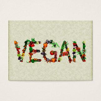 Cartes De Visite Légumes végétaliens