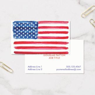 Cartes De Visite Les Etats-Unis marquent les militaires américains