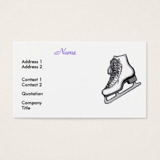 Cartes De Visite Les patineurs artistiques sont frais