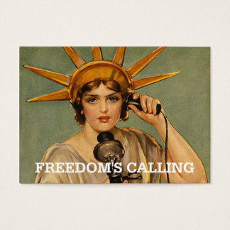 Cartes De Visite Liberté de PIÈCE EN T appelle