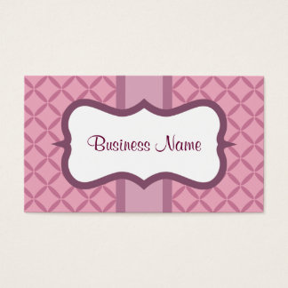 Cartes de visite lilas de coutume de prune de